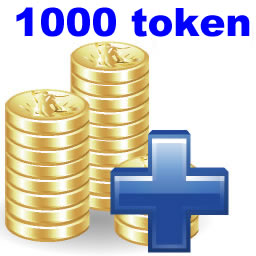 recharge 1000 token for KD300