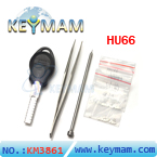 The car key restructuring tool HU66