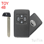TOYOTA Previa remote smart key shell 4 button