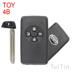 TOYOTA Carola remote smart key shell 4 button