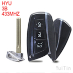 HYUNDAI SIGRINER remote key 3 buttons FKS433MHz ID46 chip (after-market)