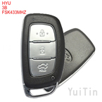 HYUNDAI New IX35 dedicated smart card 3 button FSK433Mhz 7945Achip FCCID:95440-2S610(after market)