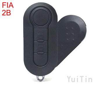 FIAT Folding remote key shell 2 button SIP22 blade