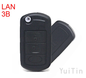 LANDROVER discovery remote key shell 3 buttons HU92 (without logo )