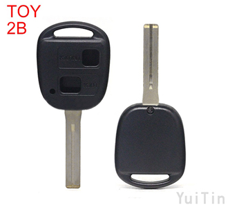 TOYOTA remote shell 2 buttons TOY48 short