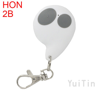 HONDA remote shell 2 buttons white colour