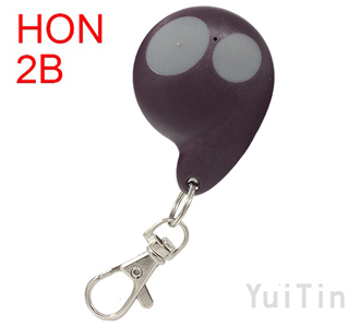 HONDA remote shell 2 buttons purple 7628C colour