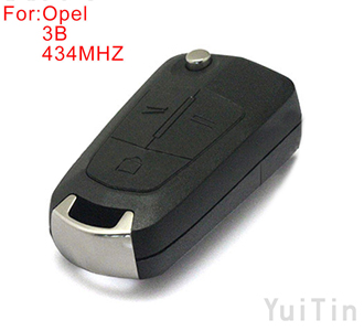 OPEL Andra folding remote key 434MHZ 3 buttons