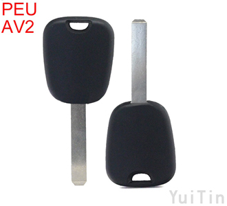 PEUGEOT CITROEN VA2T chip less key with out logo