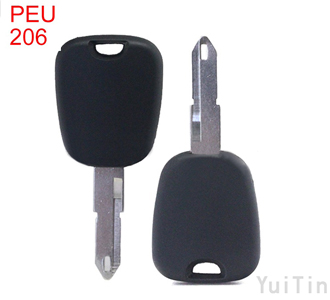 PEUGEOT 206 model key shell NE72(without logo)