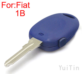 FIAT remote key shell 1 button GT15 blade