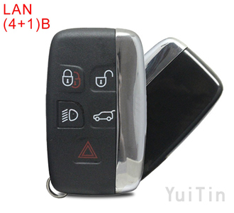 LANDROVER discovery remote key shell(4+1)buttons(without logo)