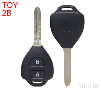 TOYOTA Corolla remote key shell 2 buttons