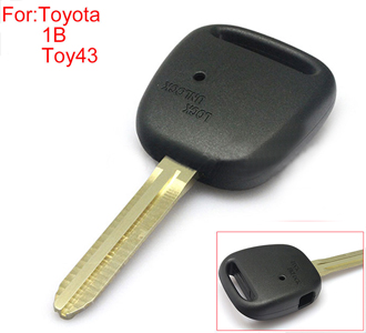 TOYOTA remote key shell side 1 buttins