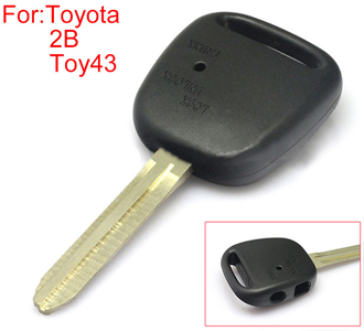 TOYOTA  remote key shell side 2 buttons