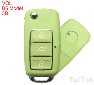 Volkswagen B5 type remote key shell 3 buttons