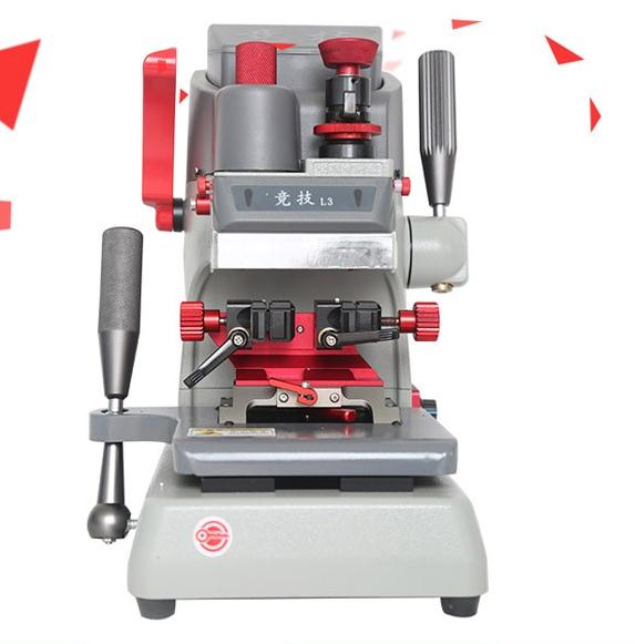2017 Good price KaiDa(JING JI L3)45 Angle all side Clamp Vertical Key Cutting Machine(European precise version)