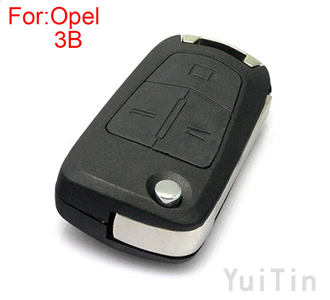 [OPEL] modified remote key shell 3 buttons