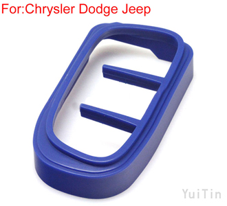[CHRYSLER]remote key shell ornament (Blue)