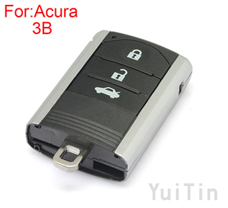 [ACURA] remote key shell 3buttons