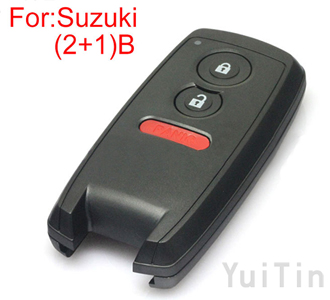 [SUZUKI]remote key shell (2+1)buttons