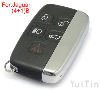 JAGUAR remote key shell 4+1 buttons