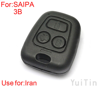 SAIPA key shell 3 buttons (suitable for Iran)