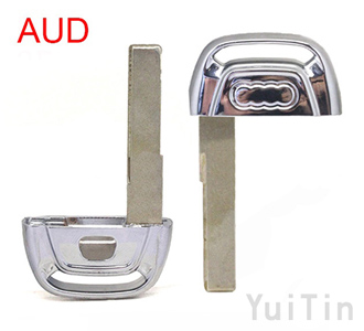 AUDI A6L A8L intelligent remote control keys easy to cut (with a concave position)