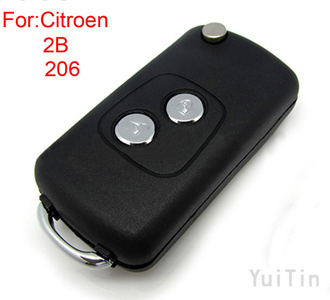 [CITROEN] Modified remoe key shell