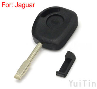 Jaguar transponder key shell without logo
