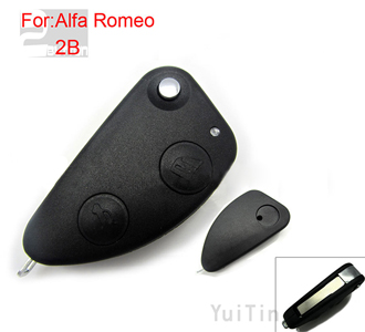 Alfo-Romeo remote key shell 2 button