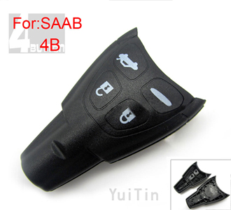 SAAB [SMA] key shell 4 button
