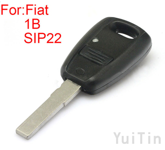 [FIAT] remote key shell (black color )