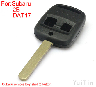 SUBARU remote key shell 2 button