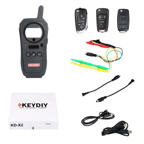 KEYDIY KD-X2 Remote Maker Unlocker and Generator-Transponder Cloning Device