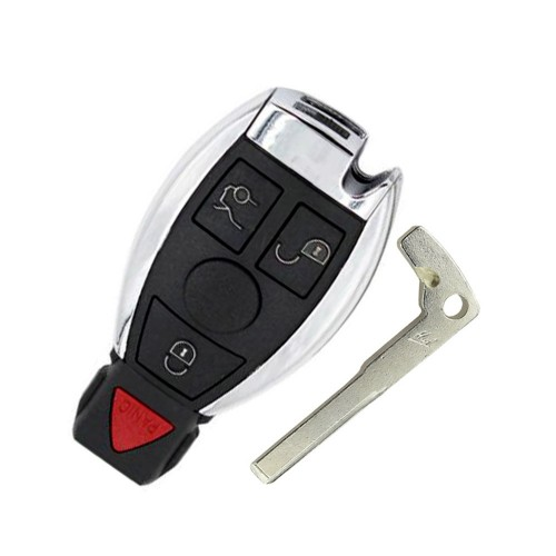3+1 Buttons Remote Car Key 315MHz For Mercedes Benz 2000+ Year