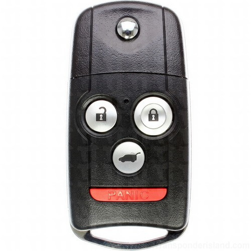 3+1Buttons 313.8MHz Remote Key for Acura