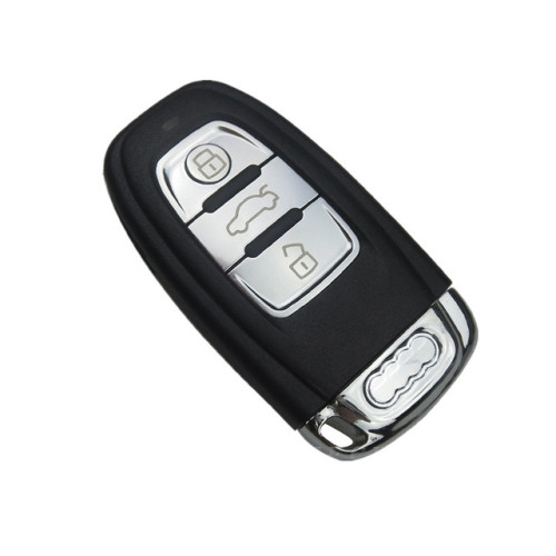 High Quality 3 Buttons Smart Remote Car Key Shell For Audi A4L A6L A5 Q5 RS5 Q5 Quattro Auto Key Case with Blade