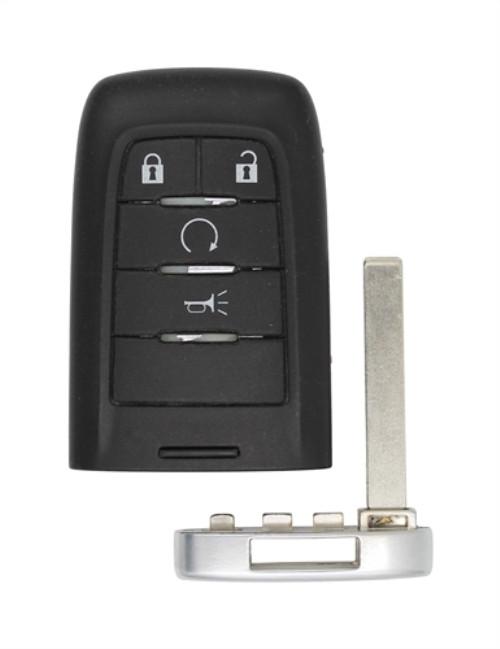 4 Buttons 315MHz Smart Key With PCF7952E Chip For SAAB