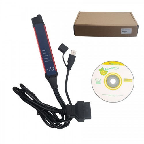 V2.40.1 Scania VCI-3 VCI3 Scanner Wifi Diagnostic Tool Multi-language Support Win7/Win10