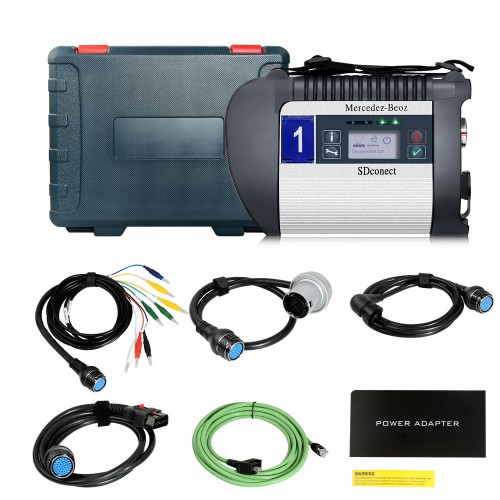 MB SD C4 PLUS Star Diagnosis Support DOIP for Cars and Trucks Without Software