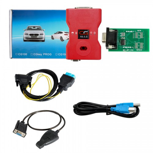 UK Ship CGDI Prog MB Benz Key Programmer Support All Key Lost with Full Adapters for ELV Repair