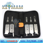 Auto 2 in1 decoder and lock picks asian car models 5pcs of one pack
