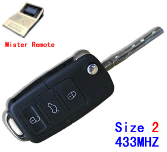 433Mhz B5 style Size 2 work with Mister Remote QN-H618[OUT OF STOCK]