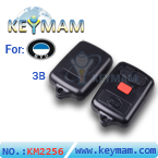BYD 3 button remote shell