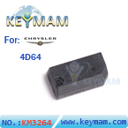Chrysler ID4D64 chip carbon