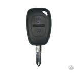 Renault 2 Button Remote Shell ключ