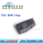ID4C chip blank (carbon)