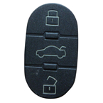 Audi button rubber (10pcs/lot)