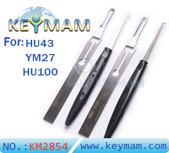 Lishi HU43YM27 & HU100 lock pick tools(set)